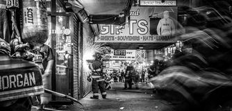 Fdny At Times Square II Royalty Free Stock Photo