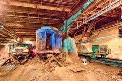 FDR火车车的盛大中央驻地 库存照片
