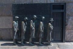 FDR纪念华盛顿特区 库存图片