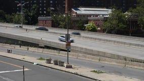 New York City Highway stock video footage