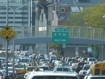 FDR Drive, New York City, NY Royalty Free Stock Images