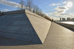 FDR Four Freedoms Park on Roosevelt Island. Royalty Free Stock Image
