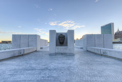 FDR Four Freedoms Park, Roosevelt Island, New York Stock Photography