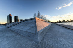 FDR Four Freedoms Park, Roosevelt Island, New York Royalty Free Stock Image
