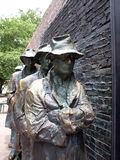 FDR Memorial - The Breadline Stock Photography