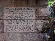 FDR Memorial Royalty Free Stock Photos
