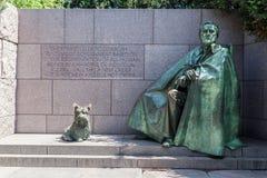 FDR memorial Washington DC Stock Photo