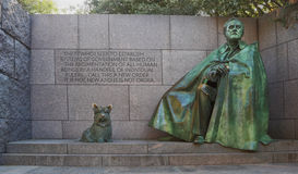 FDR Memorial Royalty Free Stock Image
