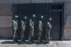 FDR memorial Washington DC Stock Image