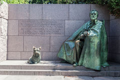 FDR memorial Washington DC Stock Photo