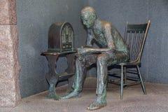 FDR memorial Washington DC. Franklin Delano Roosevelt memorial in Washington DC Royalty Free Stock Image
