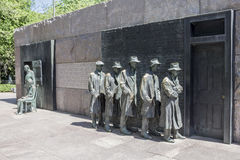 FDR memorial Washington DC Royalty Free Stock Images