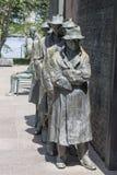 FDR memorial Washington DC Royalty Free Stock Image