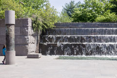 FDR memorial Washington DC Royalty Free Stock Photography