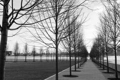 FDR Park on Roosevelt Island. In New York City stock photo