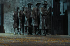 FDR pomnik obraz royalty free