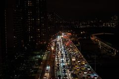 Fdr-trafik Royaltyfri Bild