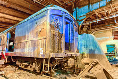 FDR Train Car - Grand Central Station Stock Photo