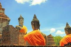 Fe antigua en budismo imagen de archivo libre de regalías