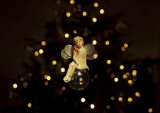Fée de Noël Image libre de droits