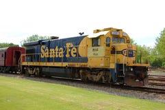 fe dieslowska elektryczna lokomotywa Santa Fotografia Stock