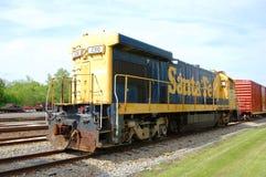 fe dieslowska elektryczna lokomotywa Santa Zdjęcie Royalty Free