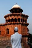 Fe en Islam, en Taj Mahal fotos de archivo libres de regalías