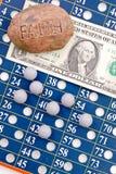 Fe en lotería Fotografía de archivo libre de regalías