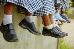 Füße Hängen Lizenzfreies Stockbild