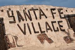 fe sante wioska obrazy stock