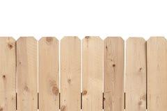 Feance di legno leggero Fotografia Stock