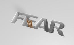 Fear vector illustration