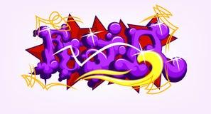 Fear Art Graffiti. Illustration Of Fear Art Graffiti Stock Image