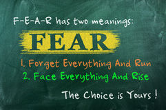 Free Fear Concept Choice Royalty Free Stock Photo - 44534735