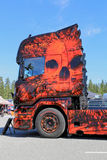 The Fear Of The Dark Heavy Truck Artwork Stock Photography