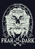 Fear of dark Stock Photo