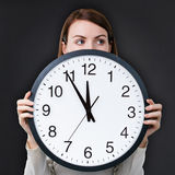 Fear of deadline Royalty Free Stock Images