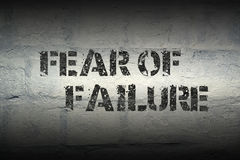 Fear of failure gr Royalty Free Stock Photos