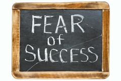 Fear of success fr Royalty Free Stock Image