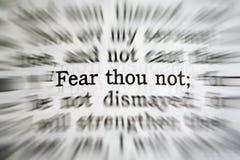 Fear Thou Not bible verse - Isaiah 40-10