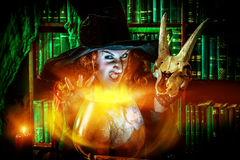 Fear witch Stock Images