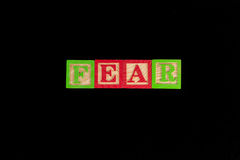 Fear Royalty Free Stock Photos