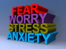 Free Fear, Worry, Stress, Anxiety Stock Photo - 160660200