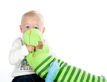 Fearing child Stock Photos