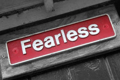 fearless imagens de stock royalty free
