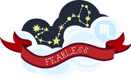 Fearless Constellation Royalty Free Stock Photography