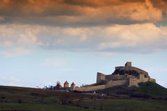 Fearless fortress in Romania Stock Photo