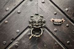 Fearsome Door Knocker Royalty Free Stock Photos