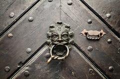 Fearsome Door Knocker Royalty Free Stock Photos