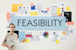 Feasibility Reasonable Potential Useful Concept Royalty Free Stock Images
